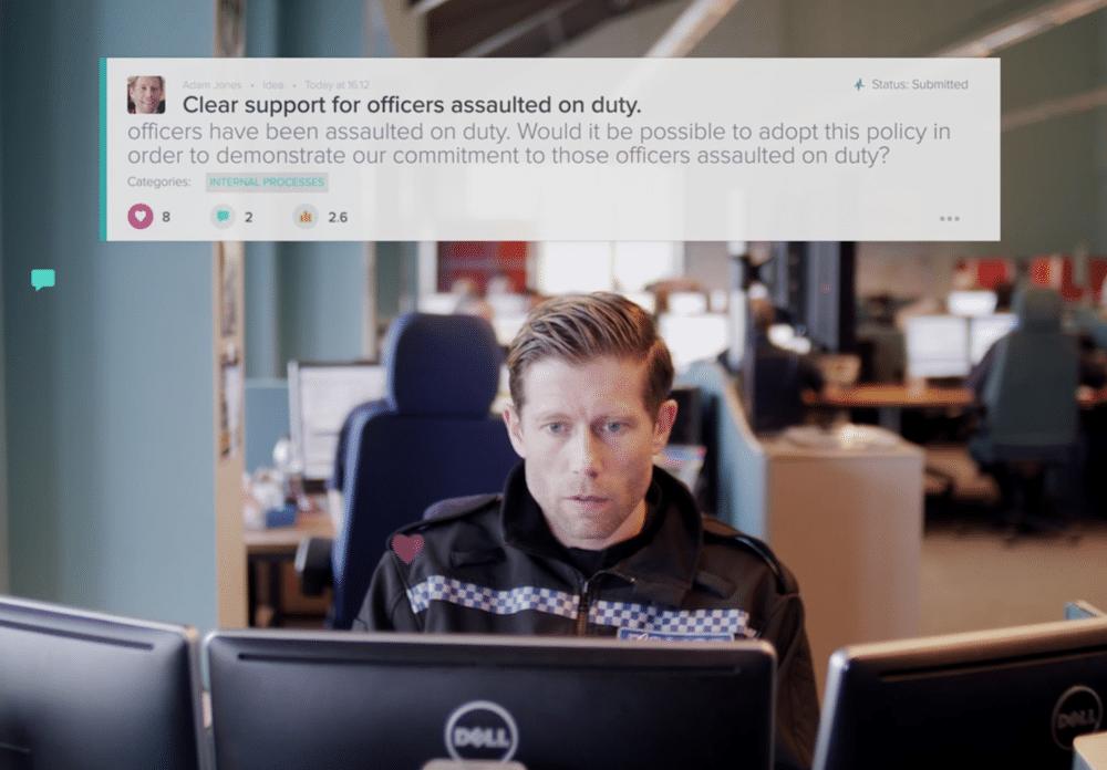 police officer innovative idea