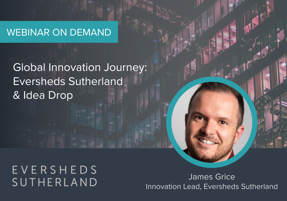Eversheds Innovation Bootcamp Webinar