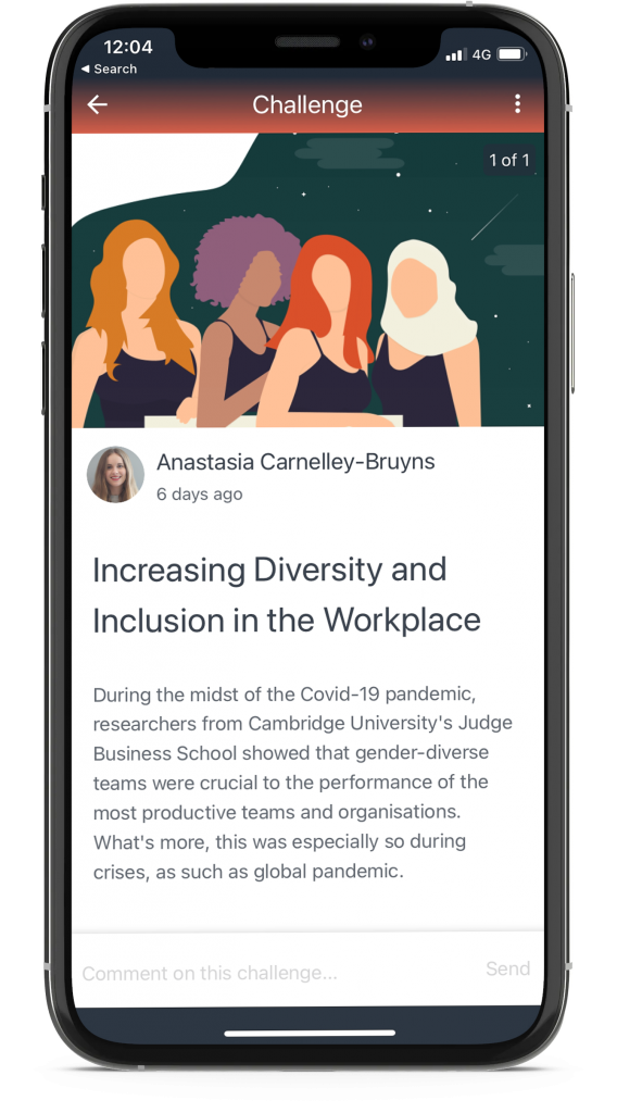 Diversity and Inclusion Public Challenge