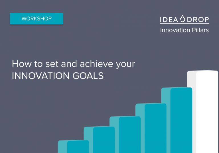 Setting and achieving innovation goals